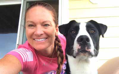 Air Force combat veteran grounded by love of an adopted dog